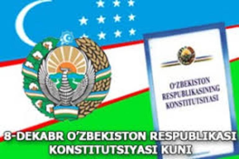 8-dekabr konstitutsiya kuni uchun senariylar to'plami