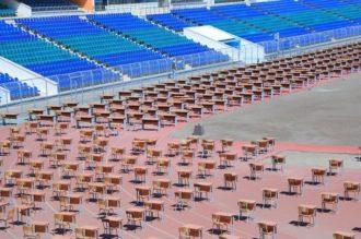 Test sinovlarini o'tkaziladigan stadionlar va xiyobonlar