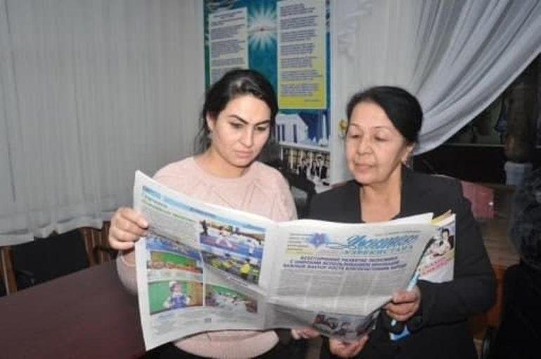 Muallim albatta gazeta o'qishi lozim