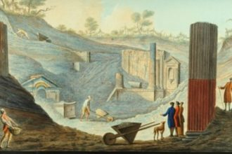 Pompeyda behayo bezakli arava topildi