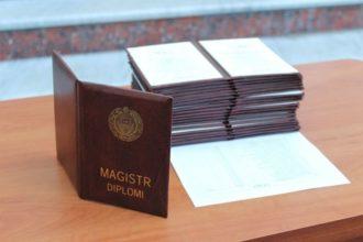 Davlat stipendiatlari magistraturaga mavjud kvota bilan kiradimi